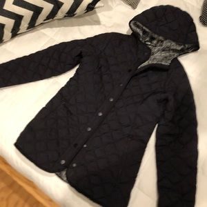 The North Face black jacket with soft inside